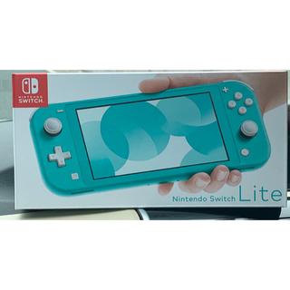 Nintendo Switch - 新品!本日発送!任天堂 ニンテンドー スイッチ ライト 本体  ターコイズ