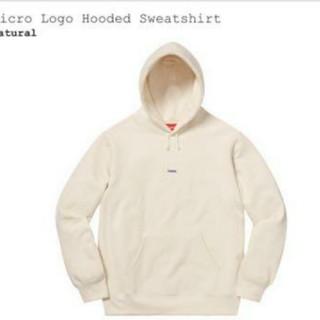 Supreme - supreme Micro Logo Hooded Sweatshirt