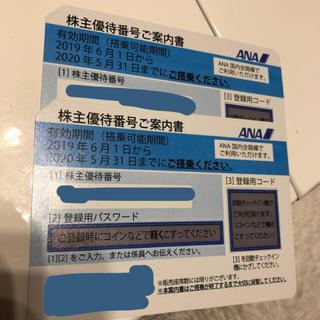 ANA(全日本空輸) - ANA 株主優待 2枚