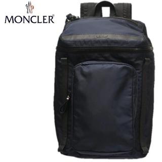 モンクレール(MONCLER)の新品 MONCLER バックパック Yannick 本物◆ ネイビー /リュック(バッグパック/リュック)