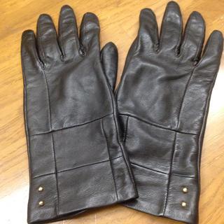 クロエ(Chloe)のChloe クロエ 革手袋(手袋)