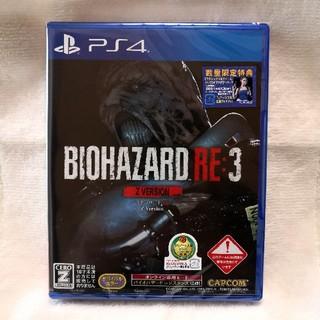 PlayStation4 - 新品未開封 BIOHAZARD RE:3 Z Version 通常版 PS4