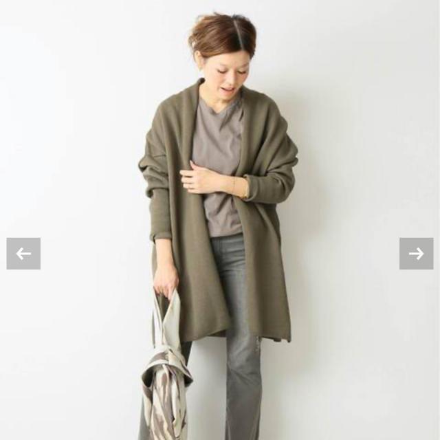 DEUXIEME CLASSE(ドゥーズィエムクラス)のTwins cotton ショートガウン レディースのジャケット/アウター(ガウンコート)の商品写真