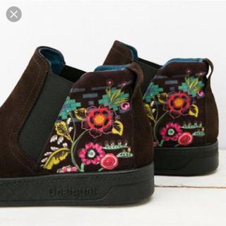 DESIGUAL - 🌻週末限定SALE🌻Desigual デシグアル ボヘミアン  刺繍 ブーツ