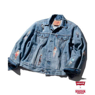 Levi's - Levi's stranger things デニムジャケット denim