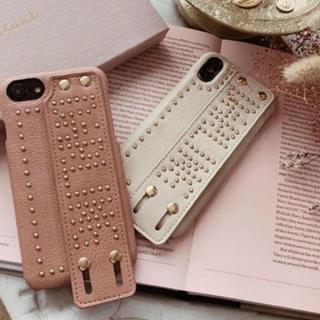 エイミーイストワール(eimy istoire)のダーリッチ♡スタッズ♡iPhoneケース♡新品未使用(iPhoneケース)