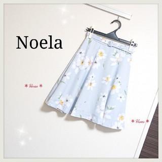 ノエラ(Noela)の【未着用品】Noela*フラワーフレアスカート(ひざ丈スカート)