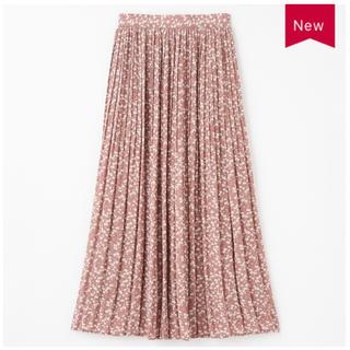 しまむら - プチプラのあや 花柄スカート ピンク L