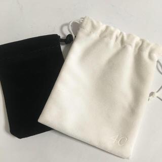 4℃ - 新品 4°C アクセサリー 巾着 ✨ 2枚セット