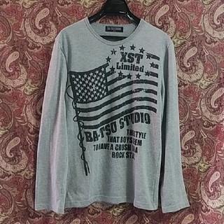 バツ(BA-TSU)のBA-TSU STUDIO/長袖Tシャツ/160cm/グレー(Tシャツ/カットソー)