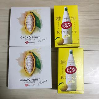Nestle - キットカット ショコラトリー アソート & 柚子酒