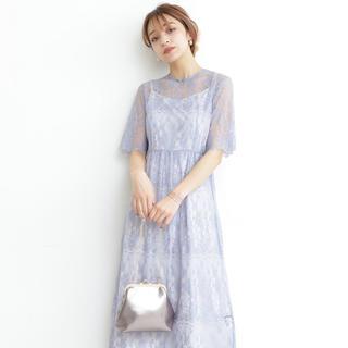 N.Natural beauty basic - ワンピース ドレス 結婚式 レース