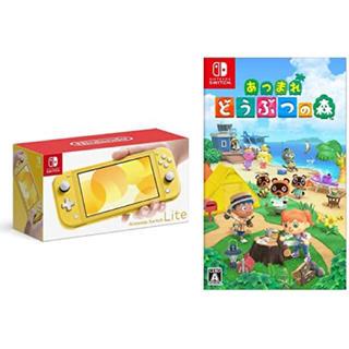 Nintendo Switch - スイッチライト イエロー どうぶつの森ソフト付き