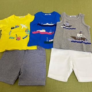 ファミリア(familiar)のファミリア 80サイズ 夏服まとめ売り(Tシャツ)