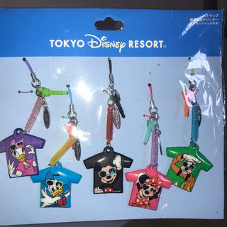 Disney - ディズニーストラップ(携帯電話クリーナー)