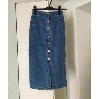 MERCURYDUO - MERCURY Bijou デニムタイトスカート