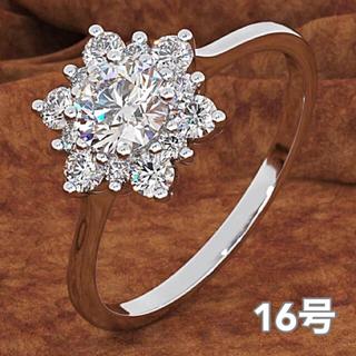 【SWAROVSKI】『天花のプリンセス』ジェム 指輪 クリスタルリング(リング(指輪))