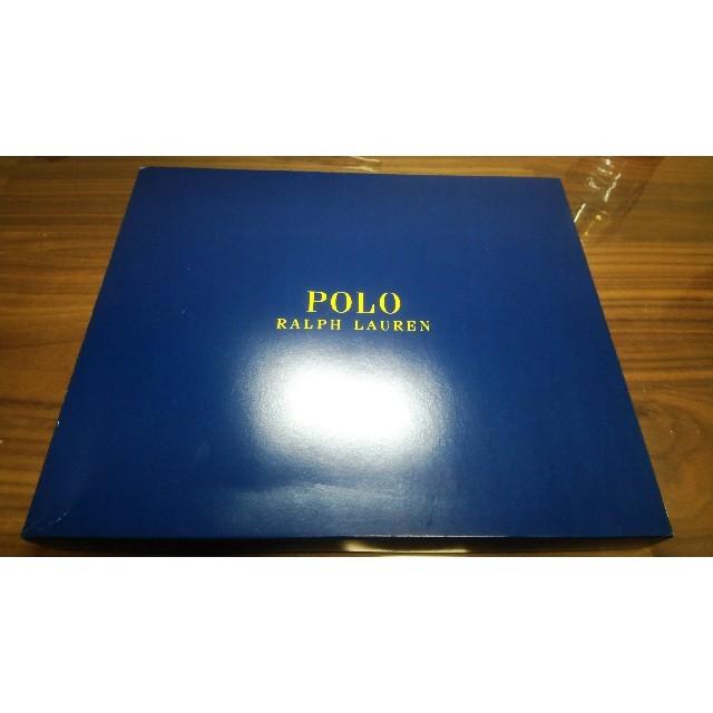 POLO RALPH LAUREN(ポロラルフローレン)のポロラルフローレンの靴下 3足セット(ネイビー グレー ブラック) メンズのレッグウェア(ソックス)の商品写真