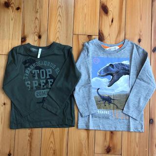 H&M - 新品 H&M 恐竜Tシャツ2枚セット