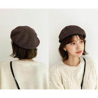 dholic - ドロストチェックベレー帽