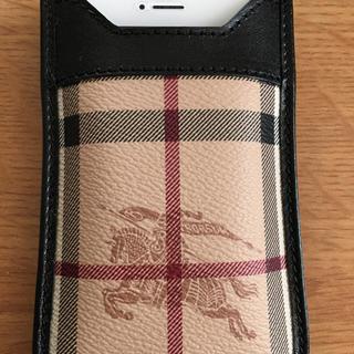 c1a3b3f3fb バーバリー(BURBERRY)のBURBERRY iPhone ケース(モバイルケース/カバー)