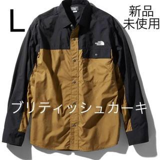 THE NORTH FACE - 即日発送!  NR11961 BK ヌプシシャツ ノースフェイス Lサイズ