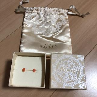 NOJESS - NOJESS ピアス サンゴ K10