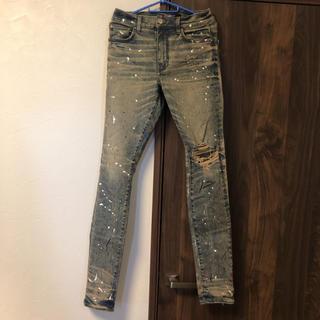 Saint Laurent - AMIRI artist broken jeans デニム ジーンズ