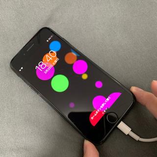 Apple - iPhone7 ジェットブラック 128GB