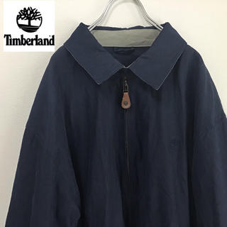 Timberland - ティンバーランド ブルゾン M ネイビー 古着
