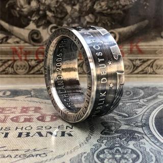 ドイツコインリング Silvar925  外国コイン加工 指輪(リング(指輪))