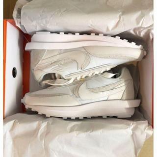 NIKE - 23.5cm Sacai Nike LD Waffle White