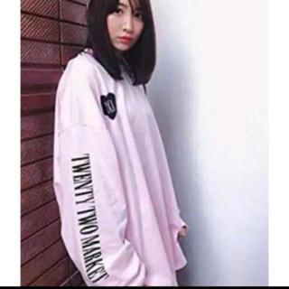 AKB48 - 22market  XXLL Long T-shirt 黒