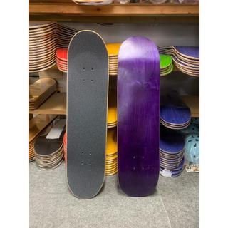 エトニーズ(etnies)のUSA ブランクデッキ 8.0スケートボード デッキ グリップテープ付(スケートボード)
