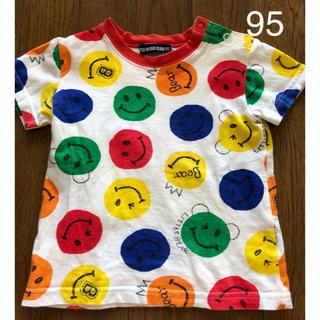 【ニコちゃん】キッズ 半袖 Tシャツ 95