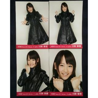AKB48 - AKB48 川栄李奈 月別 劇場 2011 february 生写真4枚コンプ