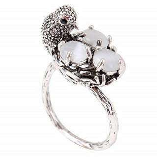 鳥の巣 バード 指輪 リング(リング(指輪))