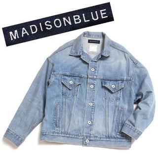 MADISONBLUE - MADISONBLUE オーバーサイズGジャン size00 マディソンブルー