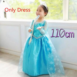 Disney - ☆アナと雪の女王 エルサ風の子供用  ドレス 100㎝