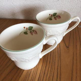 WEDGWOOD - ウェッジウッド マグカップ 2個