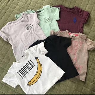 マーキーズ(MARKEY'S)の男の子 Tシャツ 6点まとめ売り 90 マーキーズ ブランシェス プティマイン(Tシャツ/カットソー)