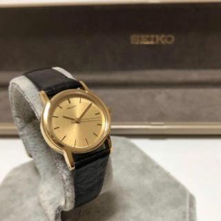 セイコー(SEIKO)のセイコー 3針  2C21-0340 クオーツ  腕時計 ヴィンテージ(腕時計)
