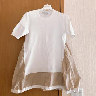 モンクレール(MONCLER)のモンクレール トップス Aライン(カットソー(半袖/袖なし))