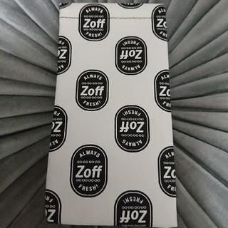 ゾフ(Zoff)のzoffメガネケース(小物入れ)