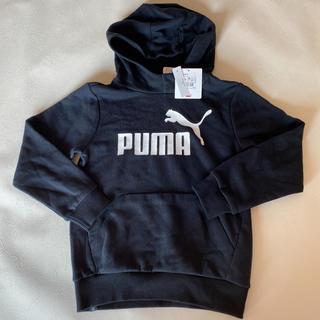 プーマ(PUMA)の新品タグ付き PUMA プーマ トレーナー フード パーカー ブラック(ジャケット/上着)
