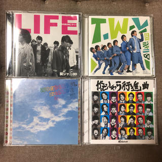 カンジャニエイト(関ジャニ∞)の関ジャニ∞ シングル CD 4枚セット 初回限定版 DVD付き含む か1(ポップス/ロック(邦楽))