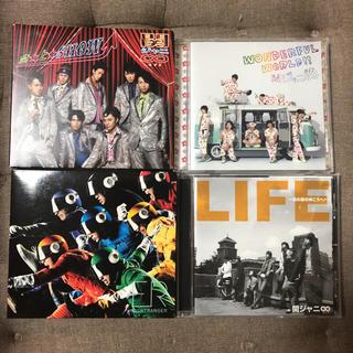 カンジャニエイト(関ジャニ∞)の関ジャニ∞ シングル CD 4枚セット 初回限定版 DVD付き含む か3(ポップス/ロック(邦楽))