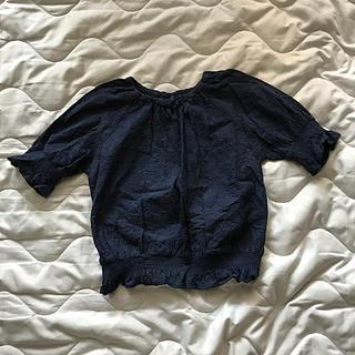 GU - GU ジーユー 半袖 カットソー シャツ 130