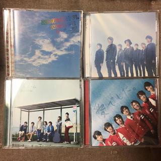 カンジャニエイト(関ジャニ∞)の関ジャニ∞ シングル CD 4枚セット 初回限定版 DVD付き含む か5(ポップス/ロック(邦楽))