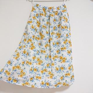 Techichi - Te chichi 新品未使用 花柄フレアスカート 花柄スカート